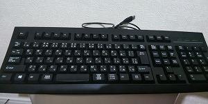 これまで使用していたキーボードK297